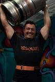 Resolute Nylon lifting belt - Orange - Resolute Strength Wear