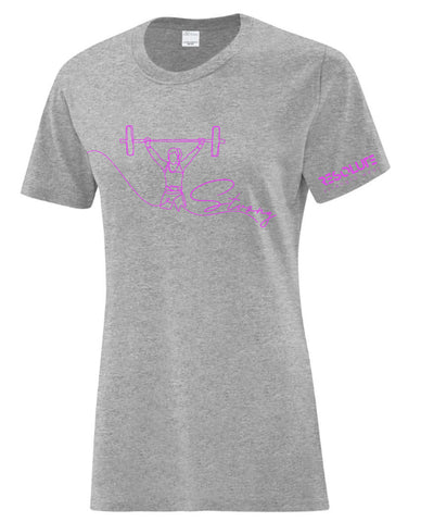 Resolute Curvy Tshirt - Strong - Resolute Strength Wear