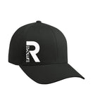 Resolute Black Wolly Combed Cap - Resolute Strength Wear