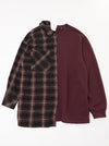 Vinti Andrews Half Shirt Sweater