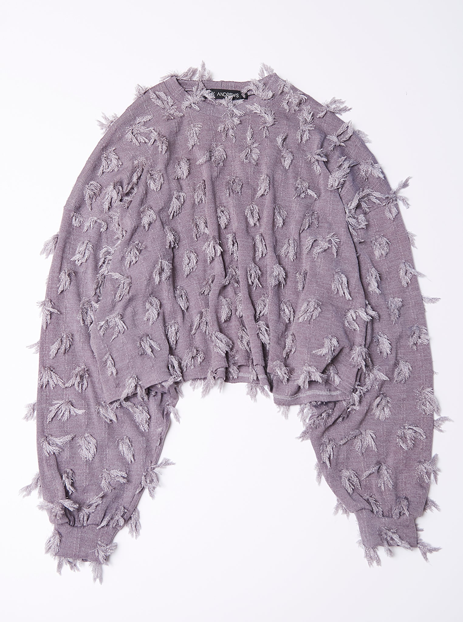 Vinti Andrews Grey Tassel Jumper