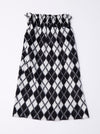 inti Andrews Diamond Knitted Skirt