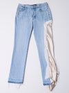 Vinti Andrews VA Jeans With Satin