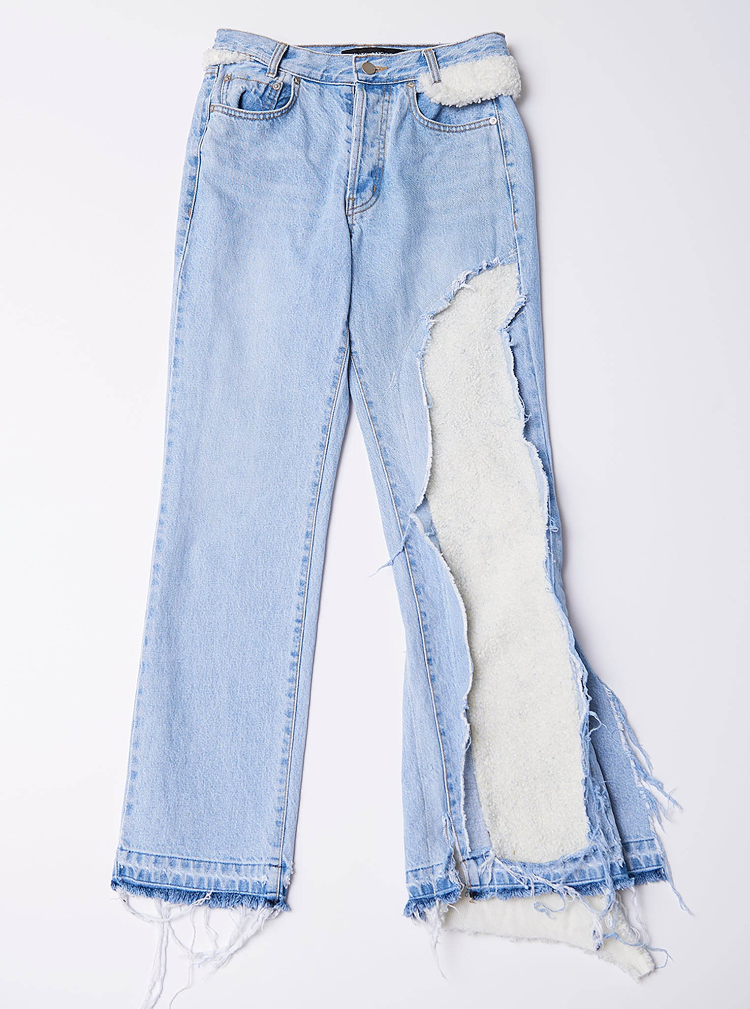 Vinti Andrews VA Jeans With Sherpa