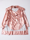 Vinti Andrews Metallic Rose Jacket