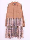 Vinti Andrews Oversize Cropped Jacket with Skirt