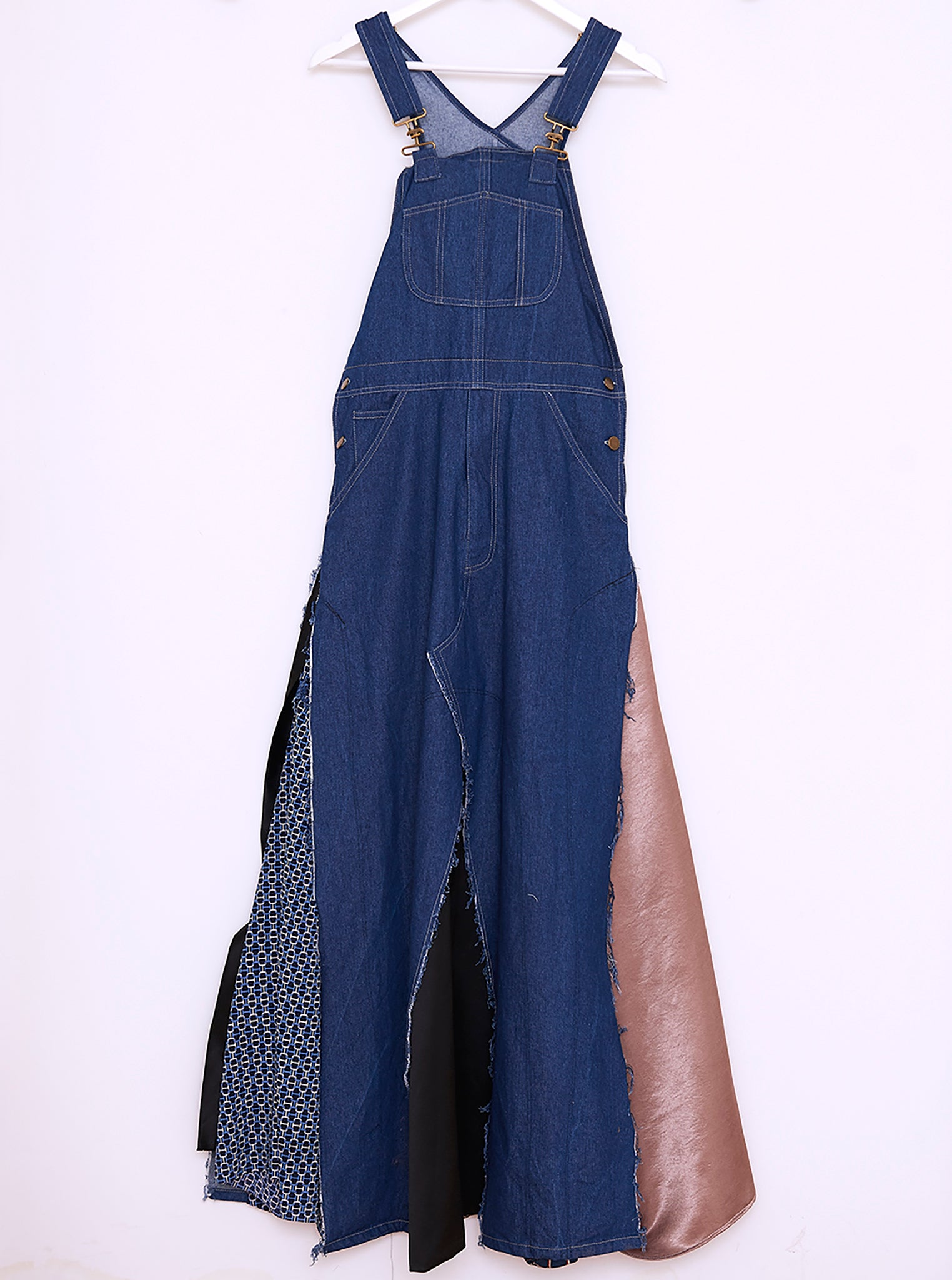 Vinti Andrews Dungarees Dress