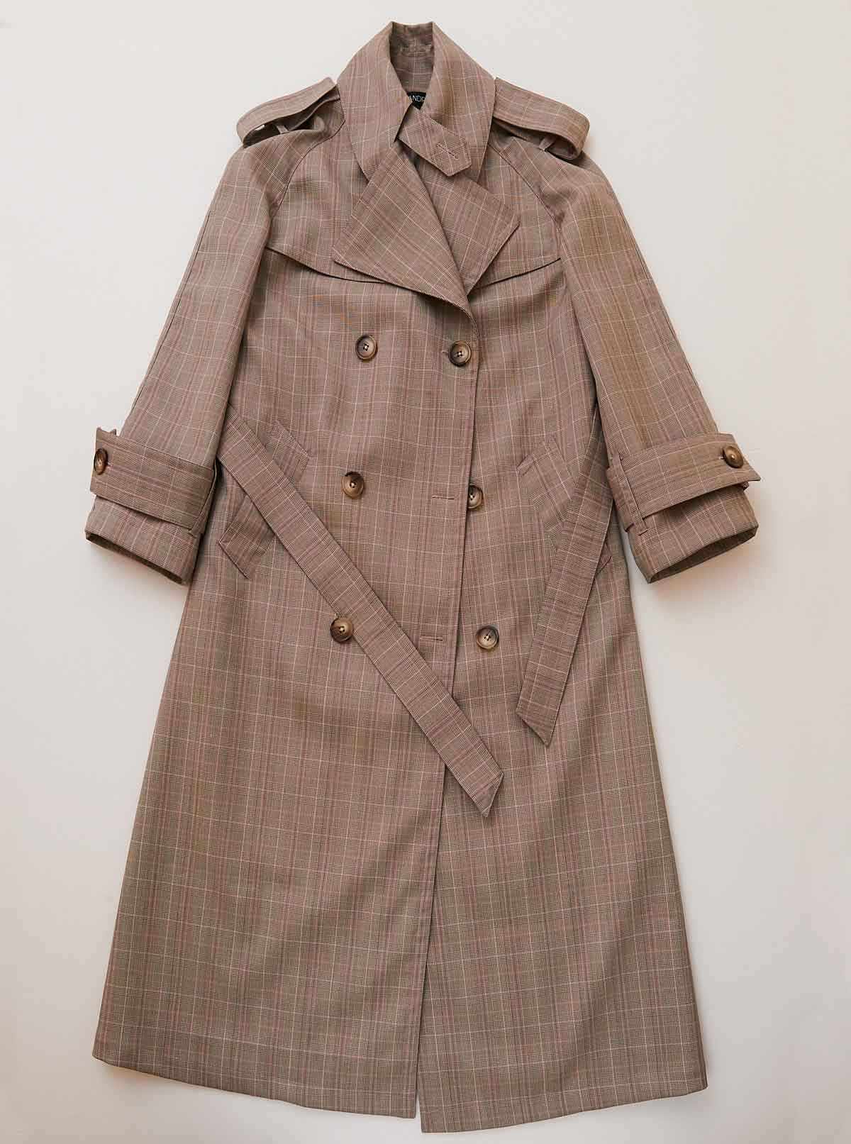 Vinti Andrews Trench Coat