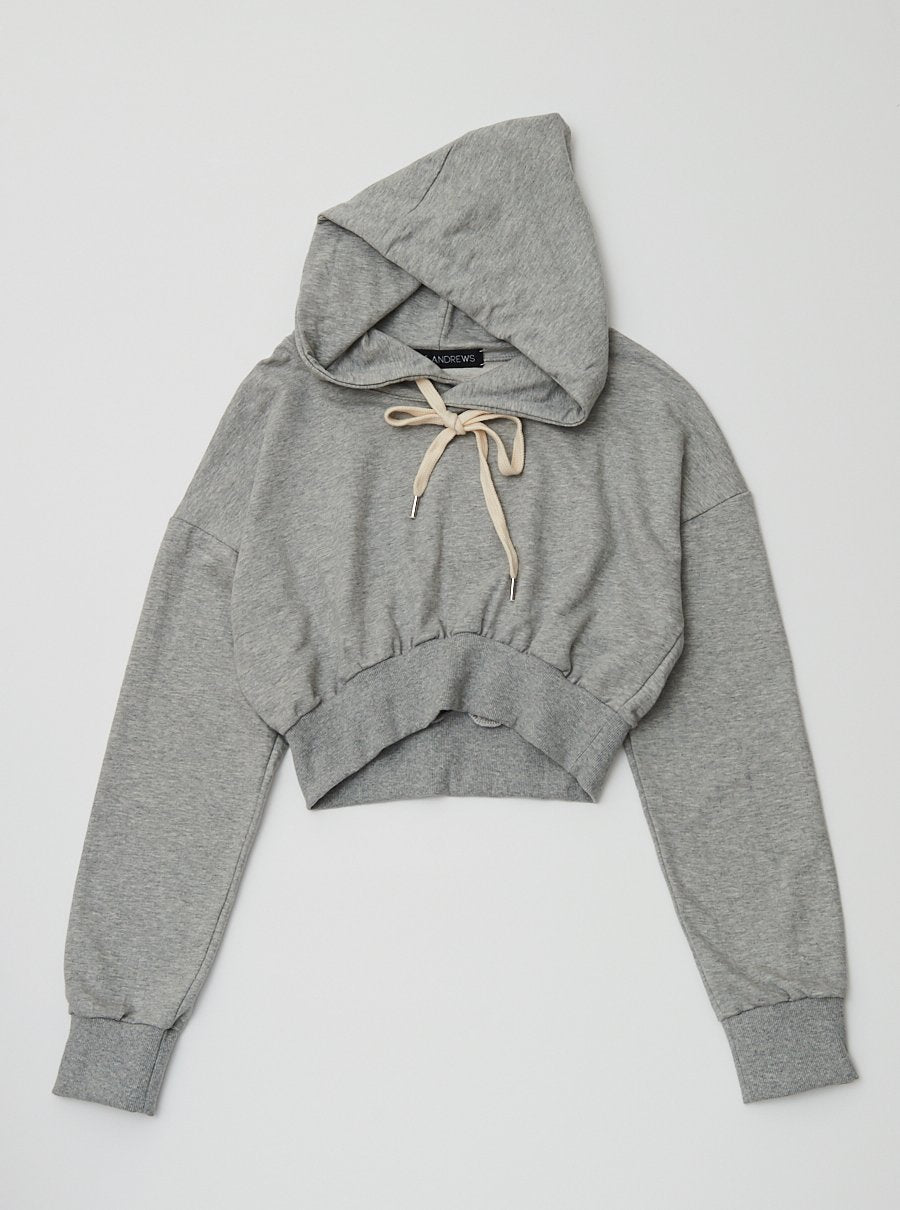 Vinti Andrews Cropped Hoody