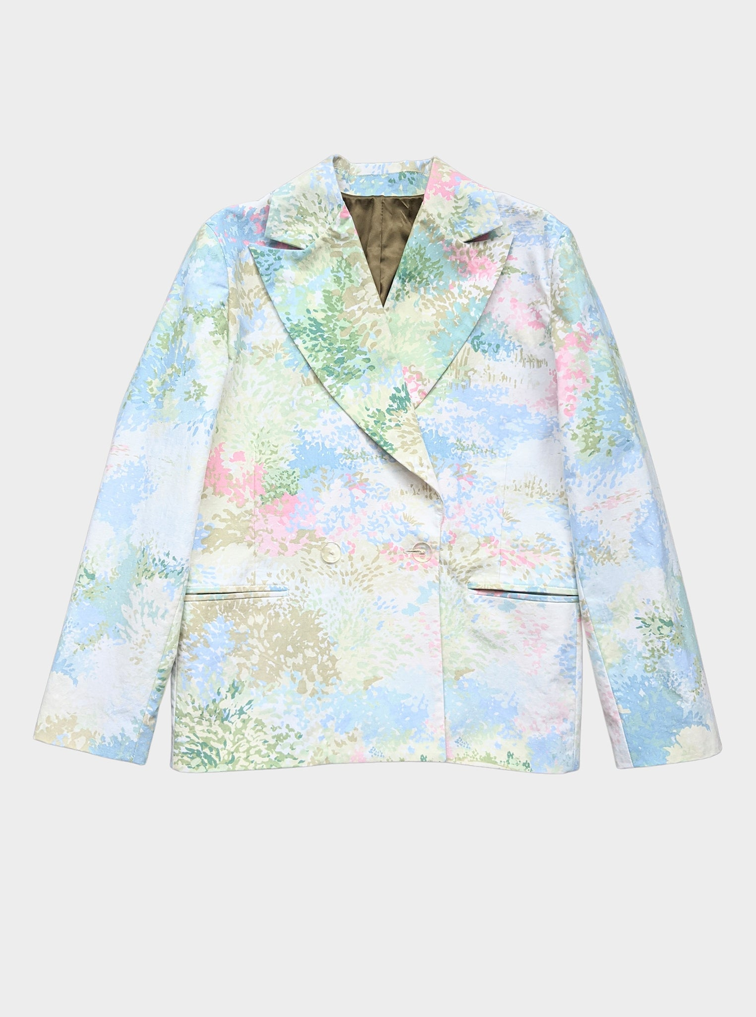 Vinti Andrews Curtain Floral Tailor Jacket