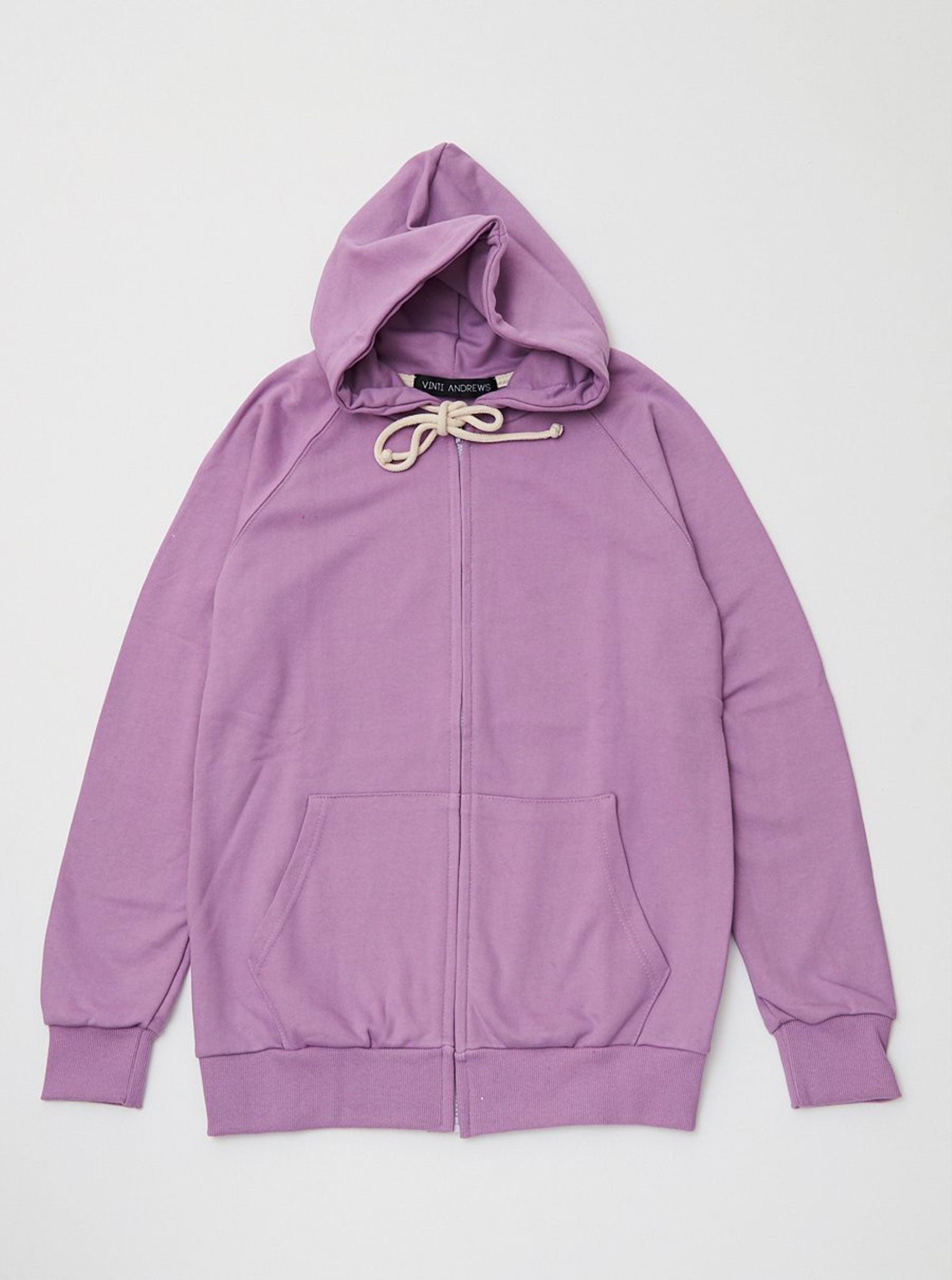 Vinti Andrews Colour Zip Up Hoody Purple
