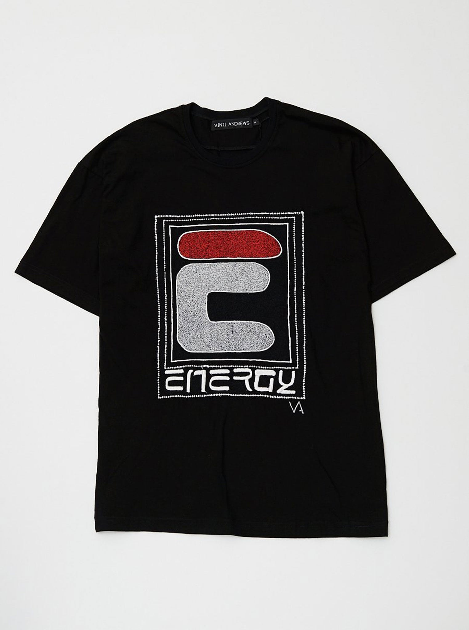 Vinti Andrews Embroidery Energy Oversize T-Shirt