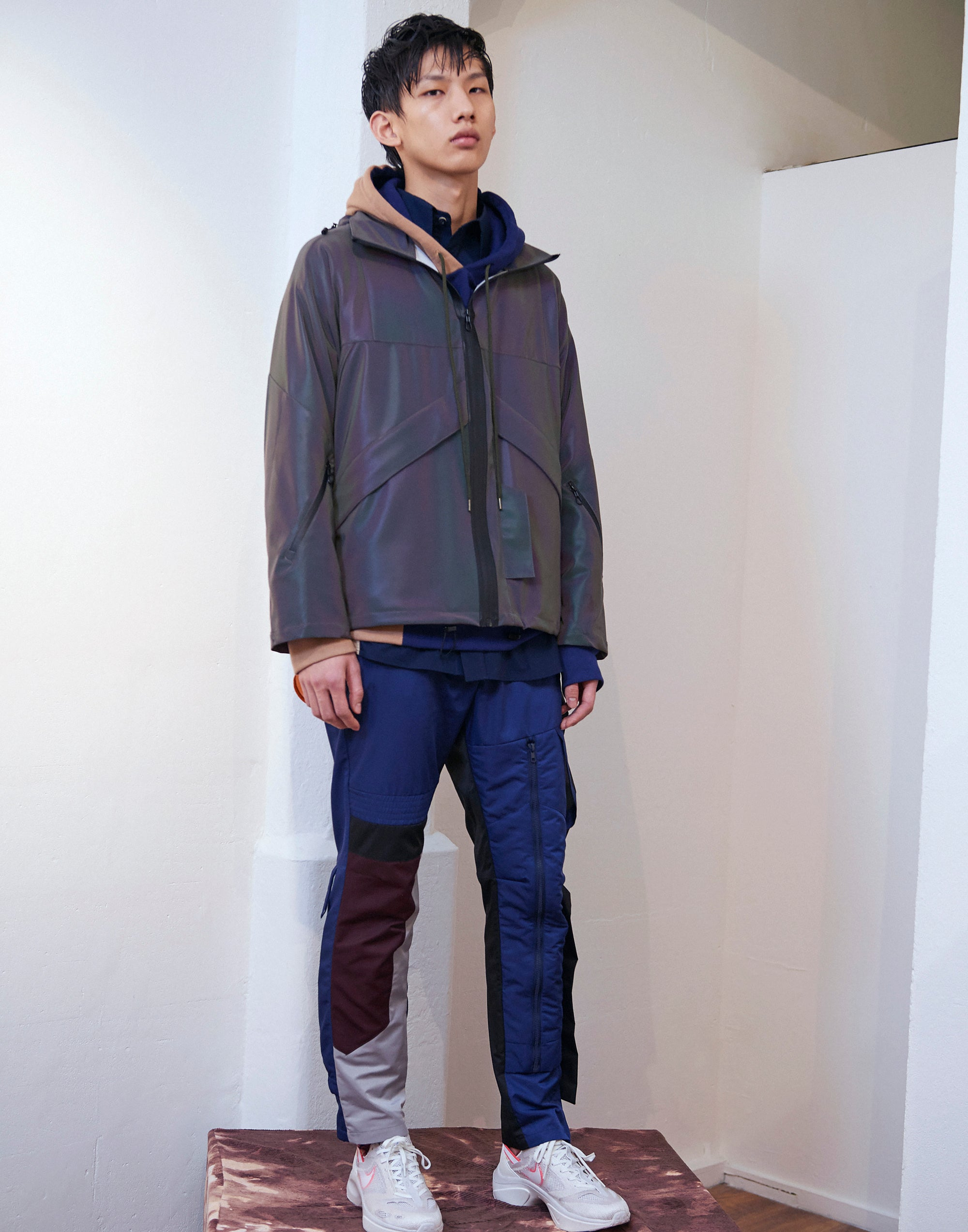 Vinti Andrews Reflective Windrunner