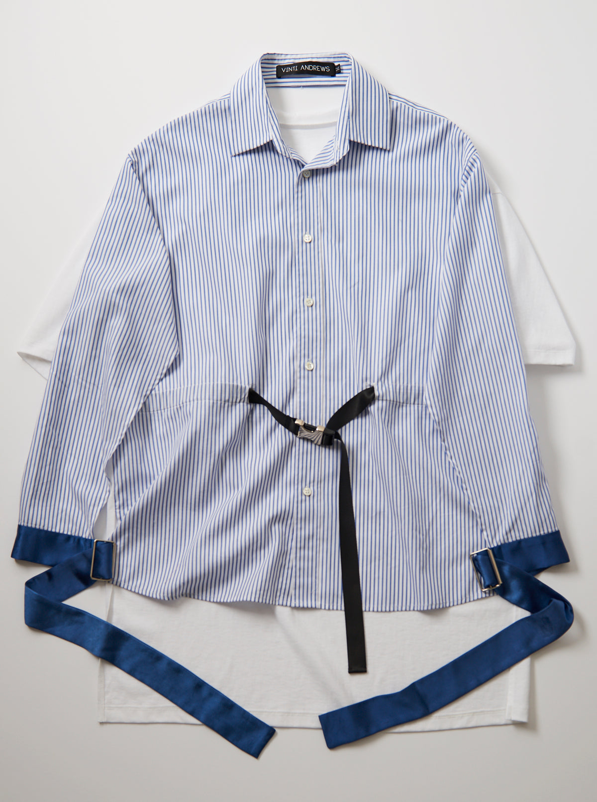 Vinti Andrews Front Shirt Blouse