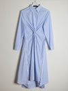 Vinti Andrews Twist Shirt Dress