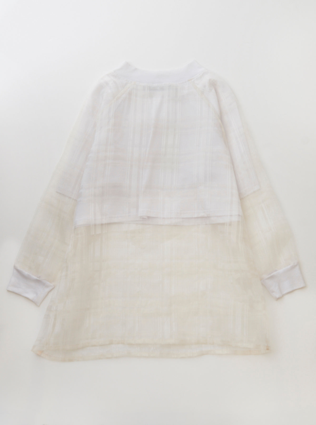 Grid Organza Jumper