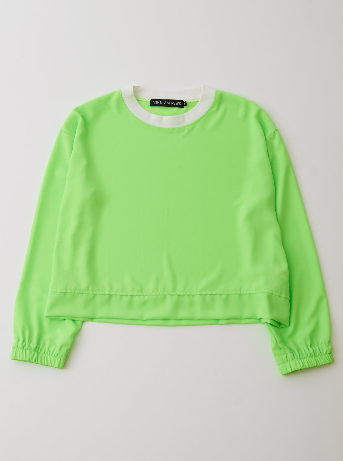 crepe de chine Jumper Top