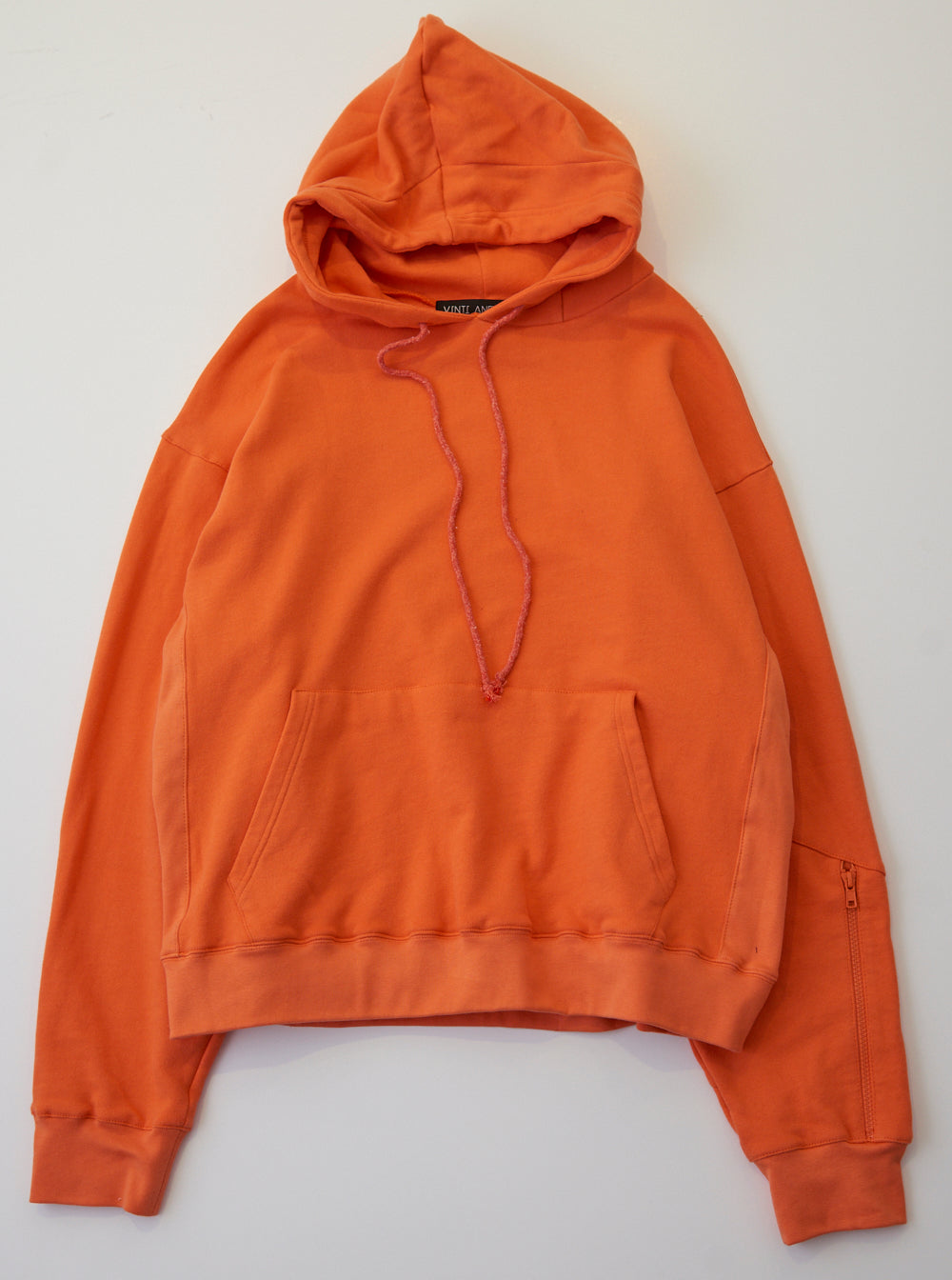 Vinti Andrews Zip Hood Hoody Orange