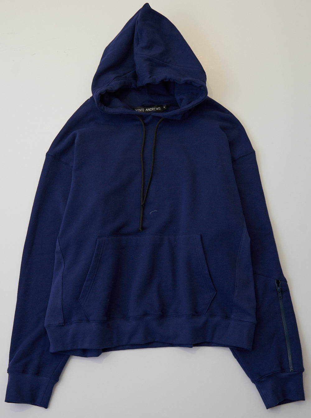 Vinti Andrews Zip Hood Hoody Navy