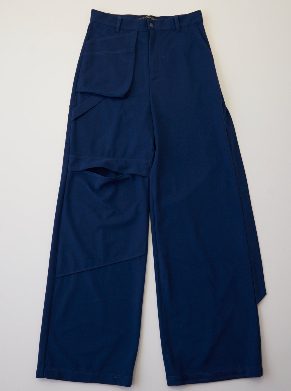 Vinti Andrews Loose Trousers Navy