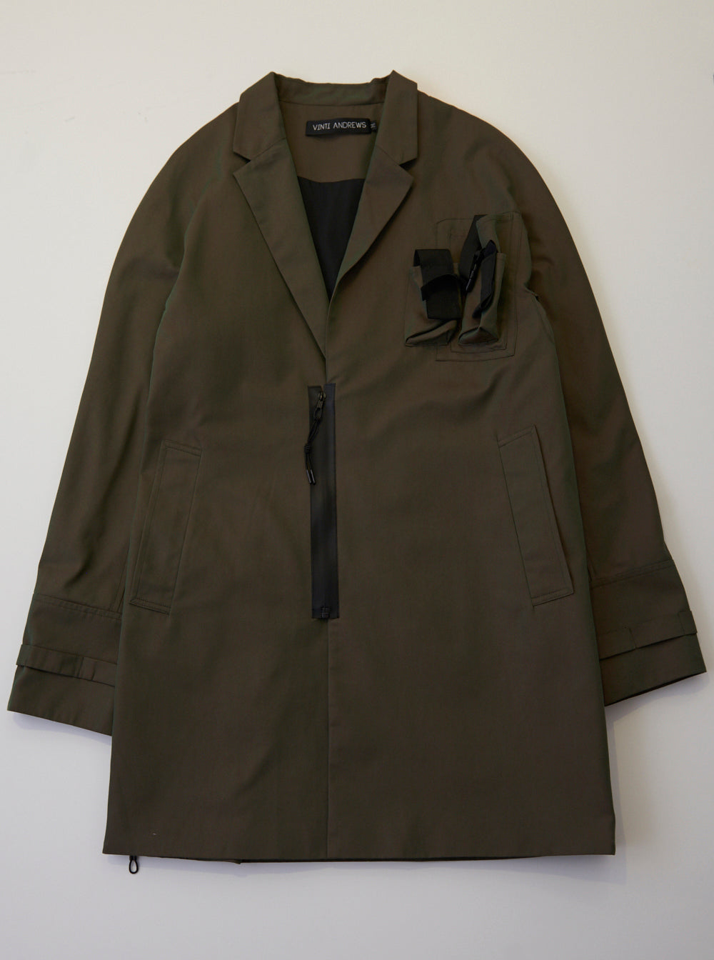 Vinti Andrews Tailor Coat Khaki