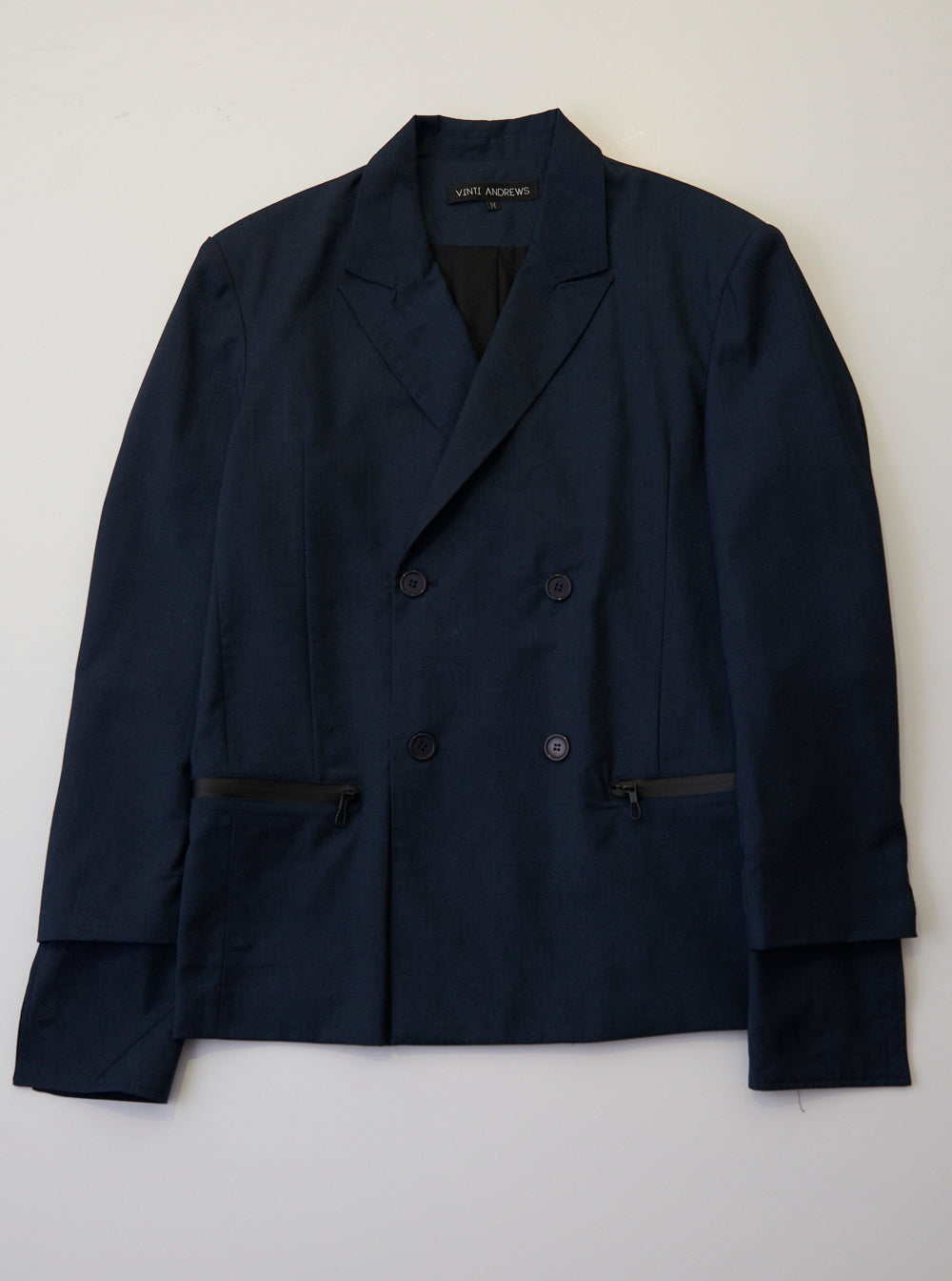 Vinti Andrews Tailor Jacket Midnight Blue Suiting