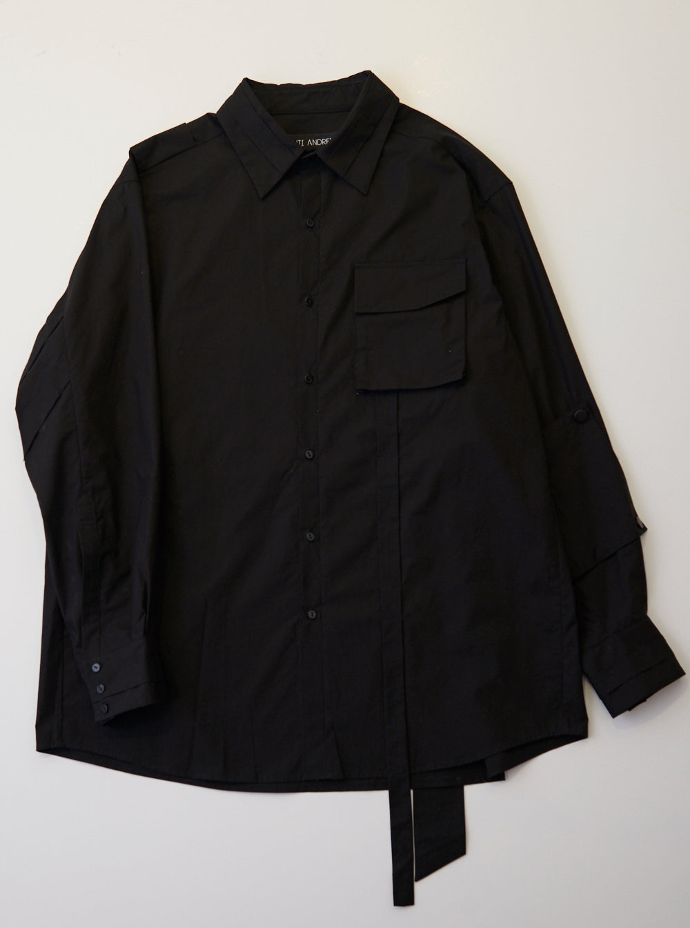 Vinti Andrews Back Pocket Shirt Black