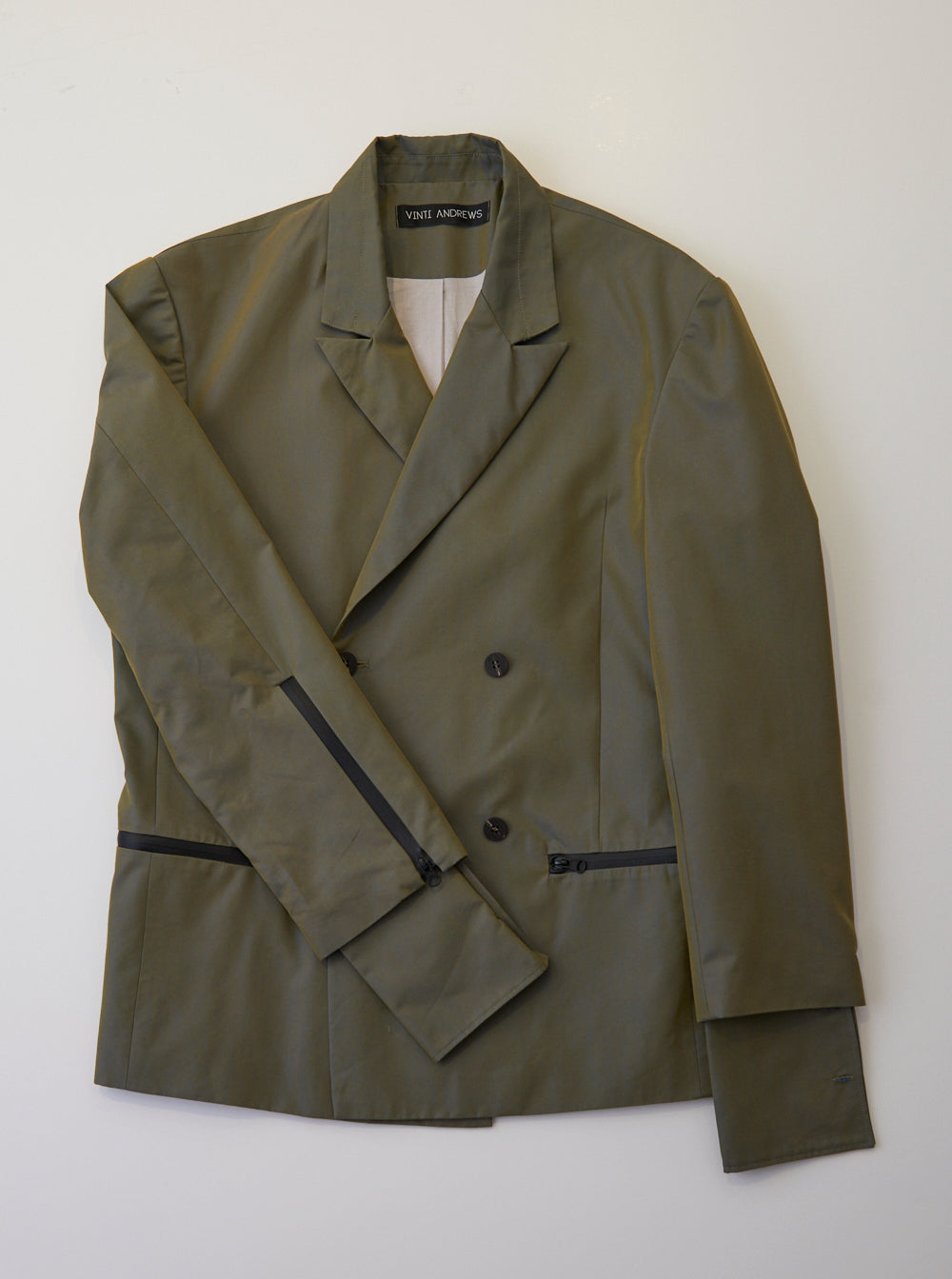 Vinti Andrews Tailor Jacket Khaki