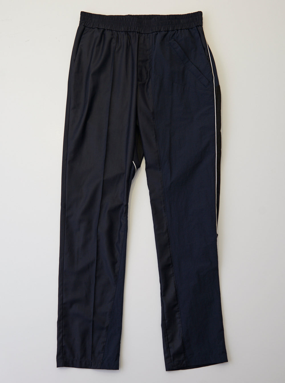 Vinti Andrews Panel Trousers Black Suiting