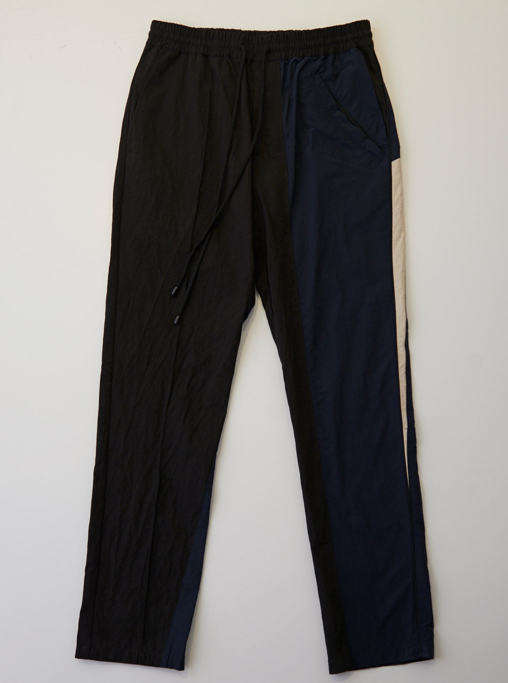 Vinti Andrews Panel Trousers Black Twill