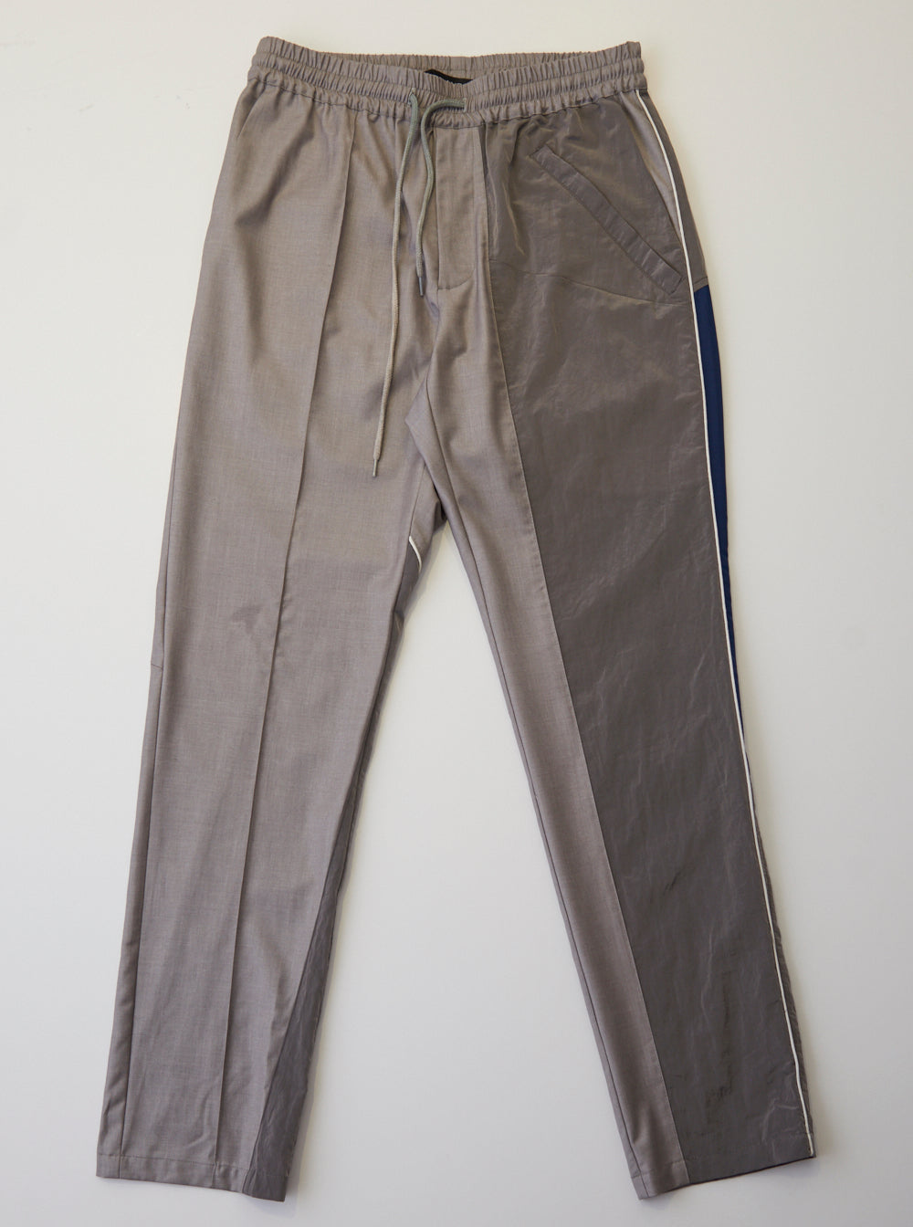 Vinti Andrews Panel Trousers Grey Suiting