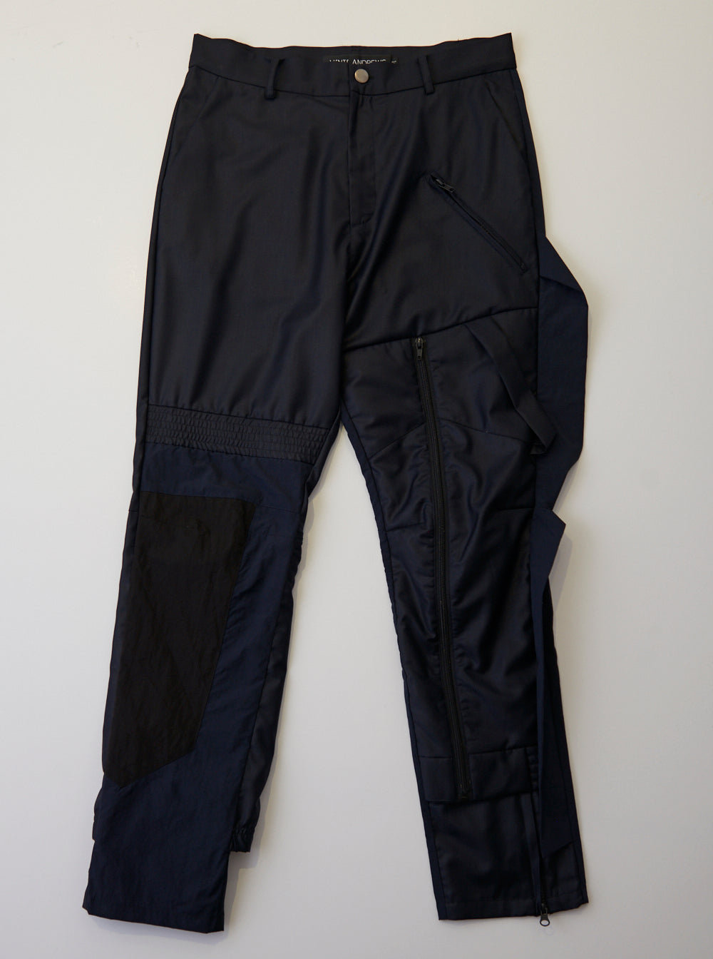Vinti Andrews Zip Trousers Black