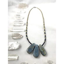 Load image into Gallery viewer, Beaded Labradorite And Crystals