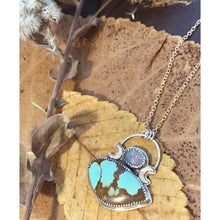 Load image into Gallery viewer, Turquoise Night Necklace