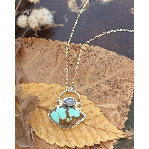 Turquoise Night Necklace