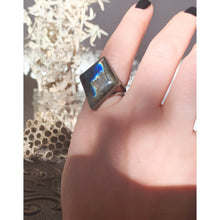 Load image into Gallery viewer, Labradorite Ring Size 10