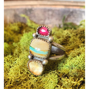 Sunshine Stacker Ring Size 10