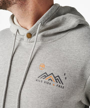 Ascent Hoodie - Heather Grey