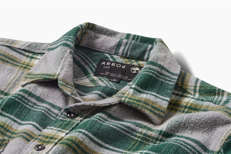 Baja Shirt - Hunter Green