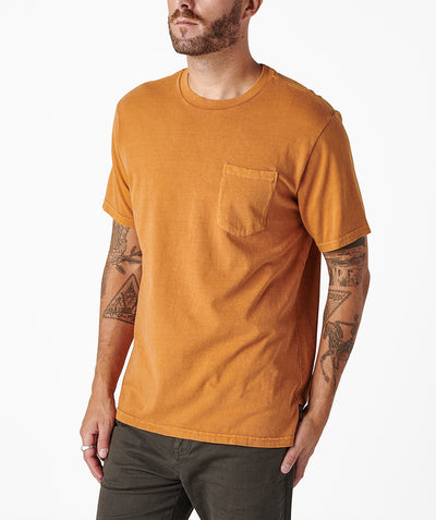 Cornerstone Pocket Tee - Amber