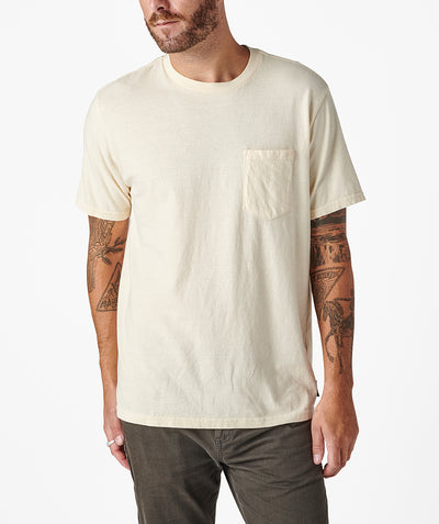 Cornerstone Pocket Tee - Off White