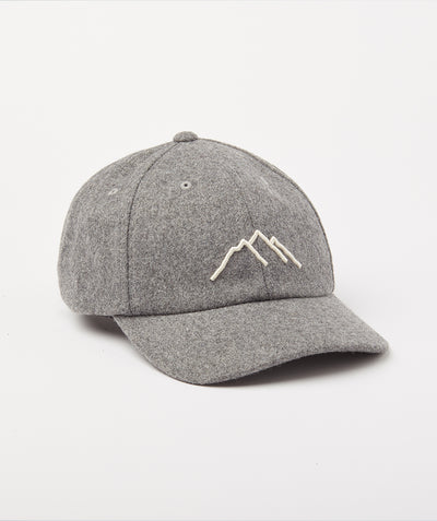 Crest Cap - Heather Grey