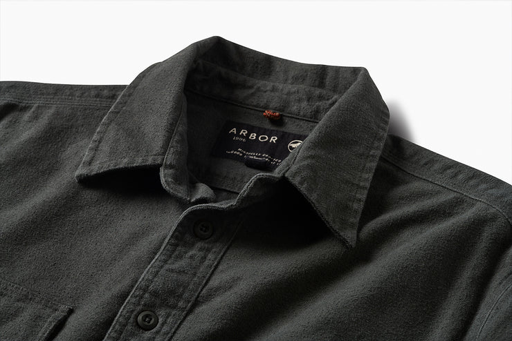 Foundation 2.0 Chamois Shirt - Vintage Black