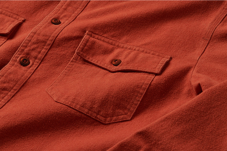 Foundation 2.0 Chamois Shirt - Vintage Red