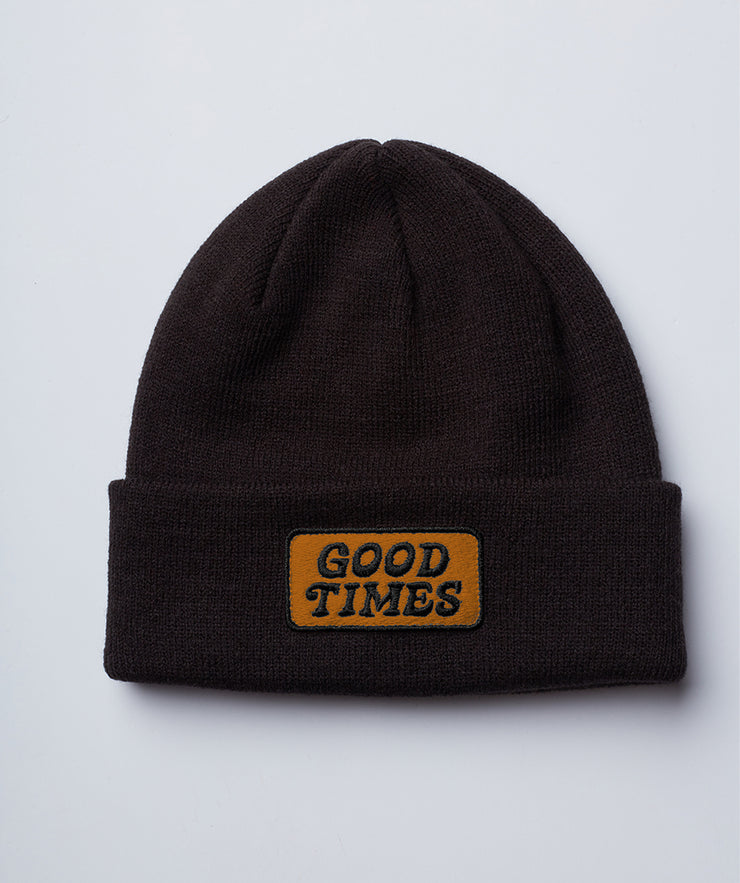 Good Times Beanie - Black