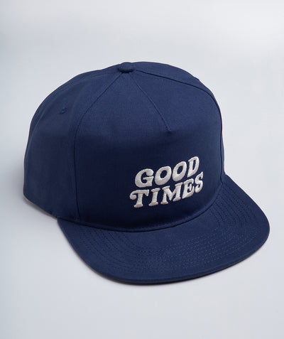 Good Times Cap - Indigo