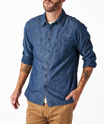 Mill Shirt - Indigo