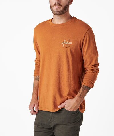 Open Road LS Tee - Amber