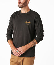 Open Road LS Tee - Black