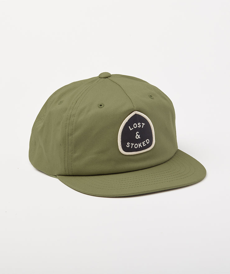 Roadside Cap - Hunter Green
